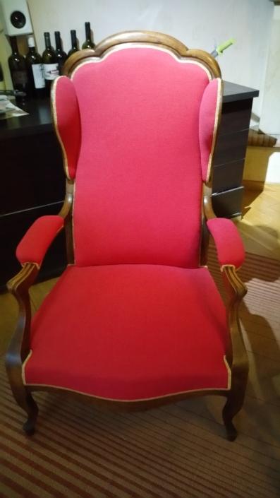 Restauration de fauteuils